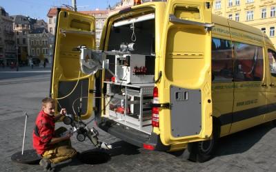 Satelitní kamerový vůz